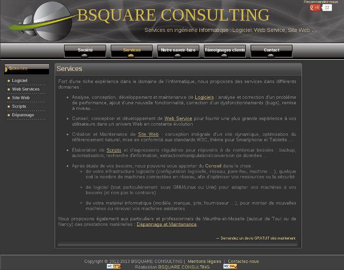 Bsquare Consulting - Thème par défaut